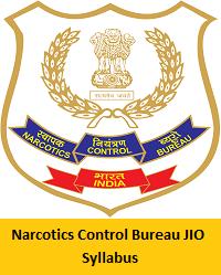 Narcotics Control Bureau JIO Syllabus
