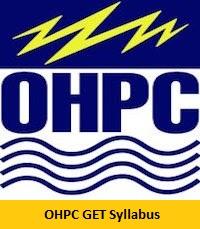 OHPC GET Syllabus