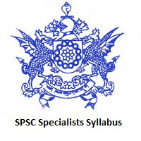SPSC Specialists Syllabus