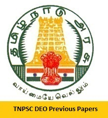 TNPSC DEO Previous Papers