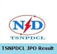 TSNPDCL JPO Result