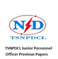 TSNPDCL Junior Personnel Officer Previous Papers