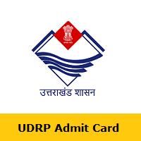 UDRP Admit Card