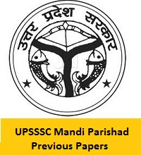 UPSSSC Mandi Parishad Previous Papers