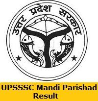UPSSSC Mandi Parishad Result