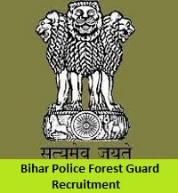 Bihar Police Forest Guard Recruitment