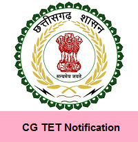CG TET Notification