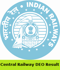 Central Railway DEO Result