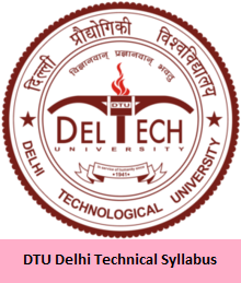 DTU Delhi Technical Syllabus