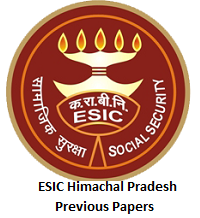 ESIC Himachal Pradesh Previous Papers