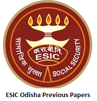 Download ESIC Odisha Previous Papers PDF | Sample Papers