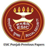 ESIC Punjab Previous Papers