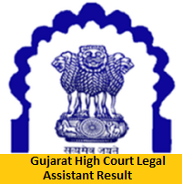 Gujarat High Court Legal Assistant Result