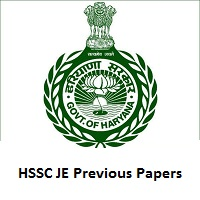 HSSC JE Previous Papers