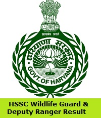 HSSC Wildlife Guard & Deputy Ranger Result