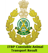 ITBP Constable Animal Transport Result
