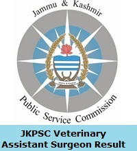 JKPSC Veterinary Assistant Surgeon Result