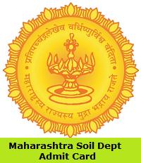 Maharashtra Soil Dept Admit Card