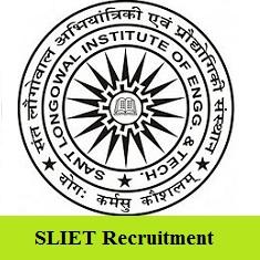 SLIET Recruitment