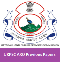 UKPSC ARO Previous Papers