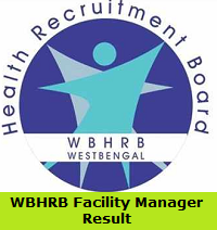 WBHRB Facility Manager Result