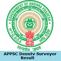 APPSC Deputy Surveyor Result