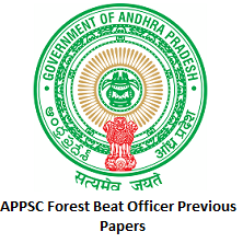APPSC Forest Beat Officer Previous Papers