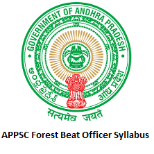 APPSC Forest Beat Officer Syllabus