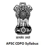 APSC CDPO Syllabus