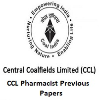 CCL Pharmacist Previous Papers