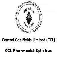 CCL Pharmacist Syllabus