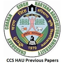 CCS HAU Previous Papers