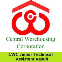 CWC Junior Technical Assistant Result