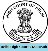 Delhi High Court JJA Result