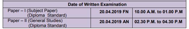 Examination Date