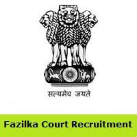 Fazilka Court Recruitment