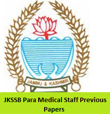 JKSSB Para Medical Staff Previous Papers