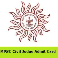 MPSC Civil Judge Admit Card