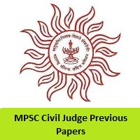 MPSC Civil Judge Previous Papers