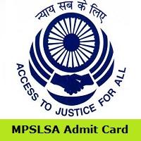MPSLSA Admit Card