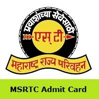 MSRTC Admit Card