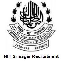 NIT Srinagar Recruitment