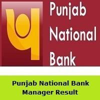 Punjab National Bank Manager Result