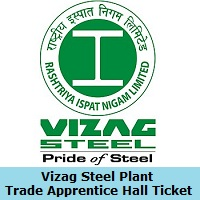 Vizag Steel Plant Trade Apprentice Hall Ticket
