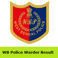 WB Police Warder Result