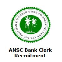 ANSC Bank Clerk Recruitment
