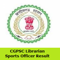 CGPSC Librarian, Sports Officer Result
