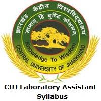 CUJ Laboratory Assistant Syllabus
