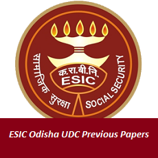 ESIC Odisha UDC Previous Papers