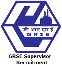 GRSE Supervisor Recruitment